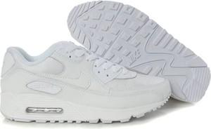 Buty sportowe Nike air max 90 sznurowane ze skóry