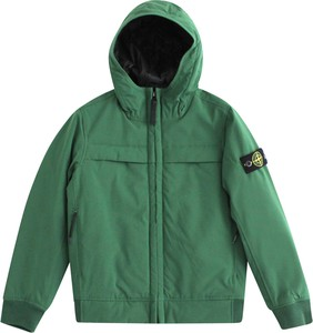 Zielona kurtka dziecięca Stone Island