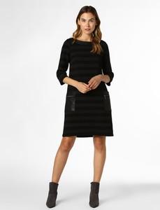 Czarna sukienka Robe Légère trapezowa mini