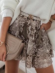 Brązowa spódnica Rose Boutique