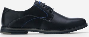 Czarne półbuty Yourshoes