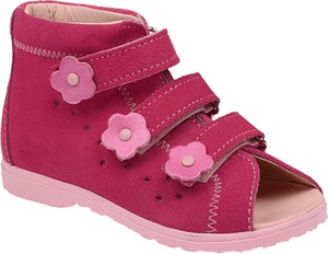 Różowe buty dziecięce letnie DAWID