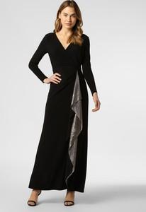 Sukienka Ralph Lauren maxi z dżerseju z długim rękawem