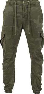 Zielone spodnie sportowe Urban Classics