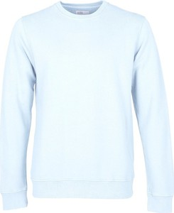 Niebieski sweter Colorful Standard z wełny
