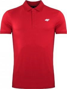 Czerwony t-shirt darcet w sportowym stylu