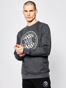 Czarna bluza Vans z nadrukiem