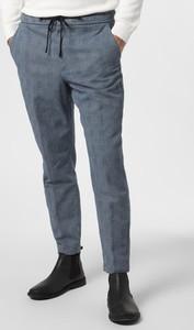Niebieskie spodnie Hugo Boss z dresówki