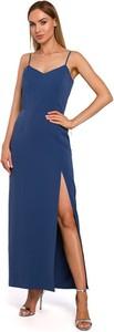 Sukienka Made Of Emotion z dekoltem w kształcie litery v na ramiączkach