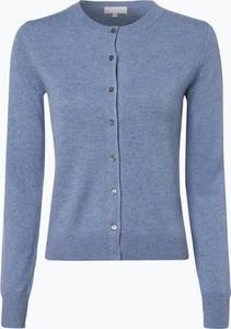 Niebieski sweter Marie Lund z kaszmiru