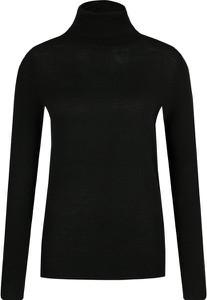 Czarny sweter Hugo Boss w stylu casual