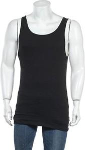 Czarny t-shirt Sloggi z krótkim rękawem