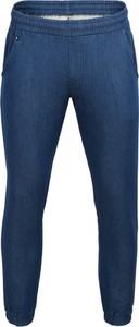 Granatowe spodnie sportowe Outhorn z bawełny