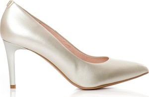 09d79569 złote buty szpilki - stylowo i modnie z Allani