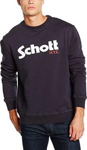 Czarna bluza Schott NYC