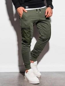 Zielone spodnie sportowe Ombre
