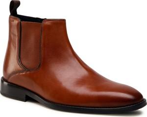 Brązowe buty zimowe Joop!