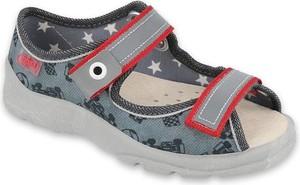 Buty dziecięce letnie Befado na rzepy ze skóry