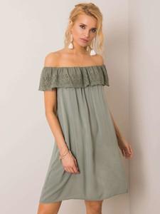Sukienka Sheandher.pl z krótkim rękawem