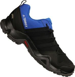 1b89a59a Buty trekkingowe Adidas sznurowane z goretexu