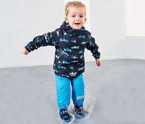 Granatowa kurtka dziecięca Tchibo dla chłopców