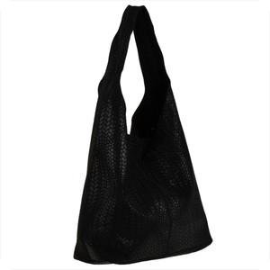 Czarna torebka Real Leather ze skóry w młodzieżowym stylu na ramię