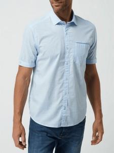 Niebieska koszula S.Oliver z bawełny w stylu casual
