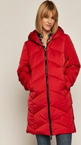 Czerwona kurtka Medicine długa w stylu casual