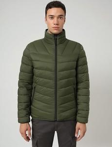 Zielona kurtka Napapijri w stylu casual krótka