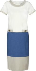 Sukienka Fokus z krótkim rękawem oversize