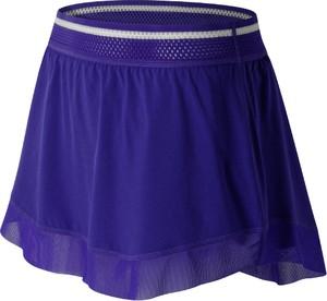Fioletowa spódnica New Balance mini w sportowym stylu