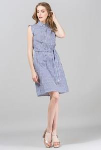 828e9218462079 sukienka w marynarskie paski. - stylowo i modnie z Allani