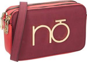 Czerwona torebka NOBO na ramię ze skóry ekologicznej w stylu casual