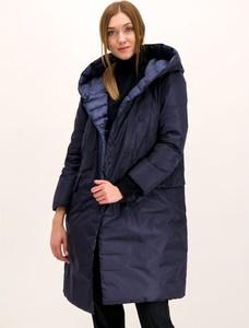 Granatowy płaszcz Hetregó