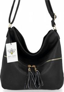 Torebka Bee Bag w stylu glamour na ramię