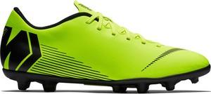Zielone buty sportowe Nike sznurowane mercurial