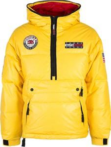 Żółta kurtka Tommy Hilfiger krótka