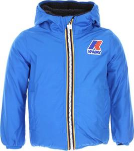 Niebieska kurtka dziecięca K-Way