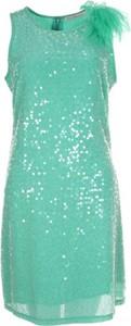 Zielona sukienka Gaudi