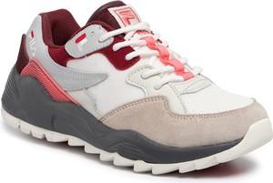 Sneakersy Fila z płaską podeszwą sznurowane