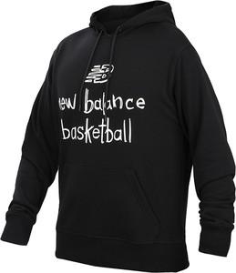 Czarna bluza New Balance z bawełny w sportowym stylu