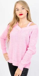Różowy sweter Olika