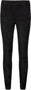 Czarne legginsy Sofie Schnoor z zamszu