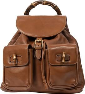 Brązowy plecak Gucci