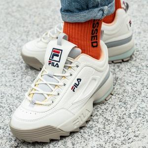 a93d11a5 Białe buty damskie Fila, kolekcja lato 2019