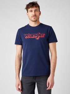 T-shirt Wrangler w młodzieżowym stylu