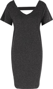 Sukienka Hugo Boss z krótkim rękawem midi