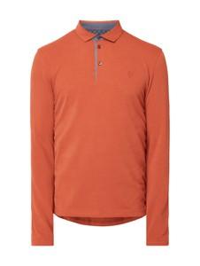 Pomarańczowy t-shirt Marc O'Polo z bawełny w stylu casual