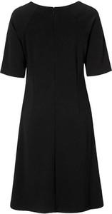 Sukienka Freequent w stylu casual z okrągłym dekoltem z dżerseju