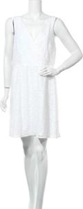 Sukienka Nicole By Nicole Miller z okrągłym dekoltem bez rękawów